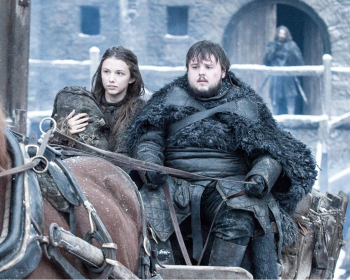 Hannah Murray as Gilly in Game of Thrones 10x08(04)