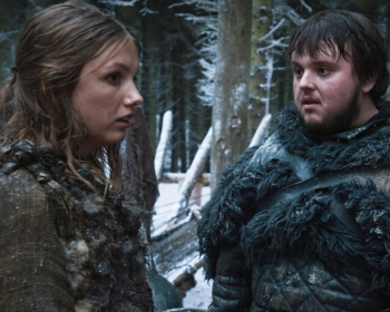 Hannah Murray as Gilly in Game of Thrones 10x08(05)