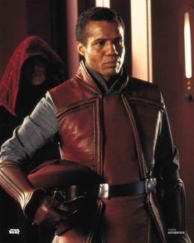 Hugh Quarshie as Captain Panaka in Star Wars The Phantom Menace pre-order (01)