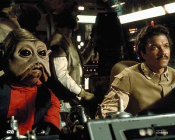 Mike Quinn as Nien Nunb in Star Wars pre-order (04)