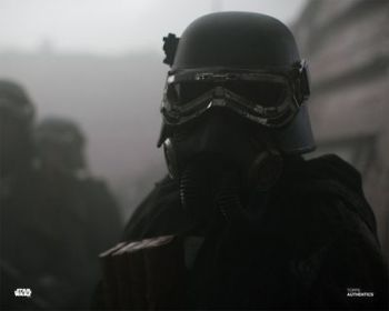 Kenny Lee as an Imperial Mudtrooper in Solo: A Star Wars Story pre-order