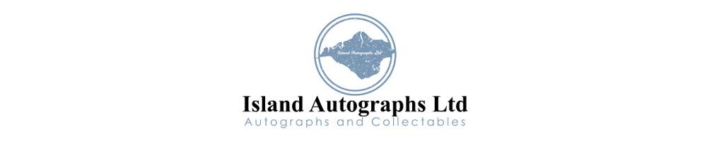 Island Autographs, site logo.