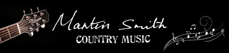 Martin Smith Contry Music, site logo.