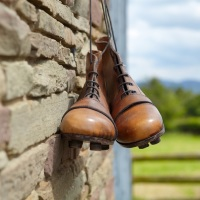 Vintage  Leather Rugby or Football Boots