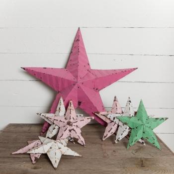Small Amish Metal Barn Stars