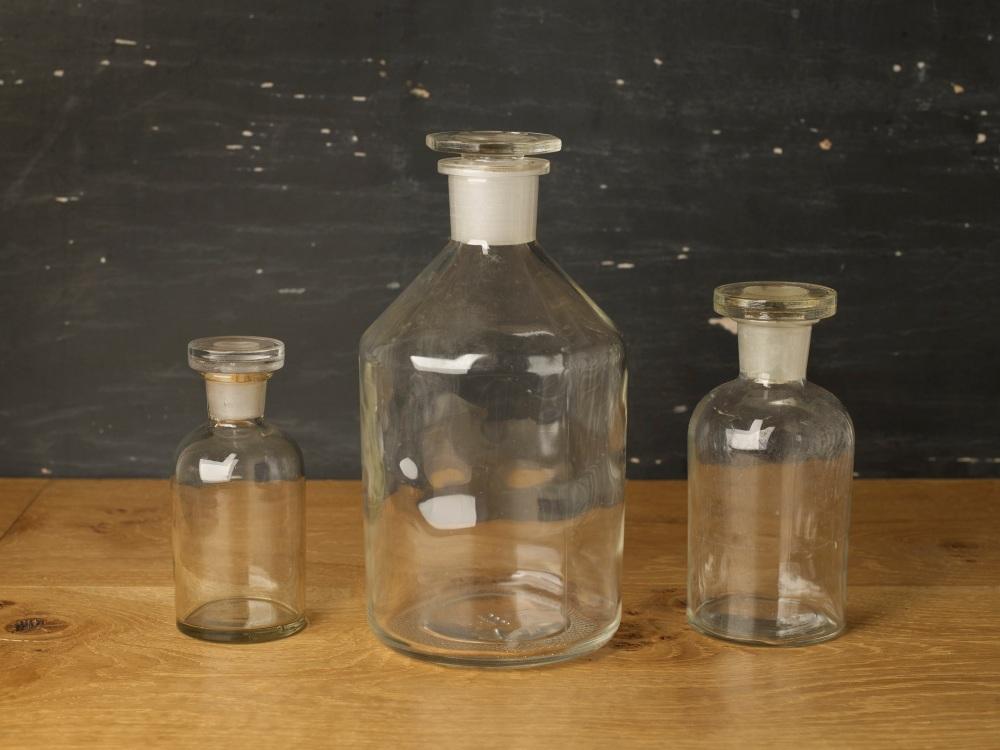 Glass Laboratory Bottles