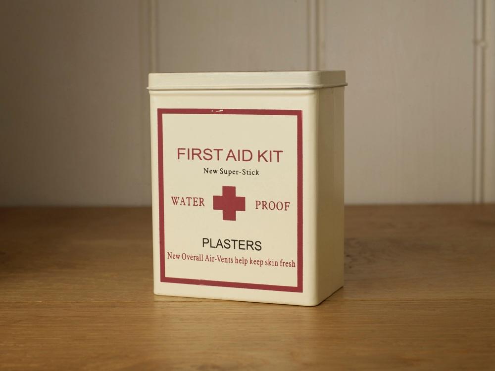 First Aid Kit Tin