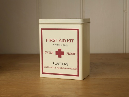 First Aid Kit Tin