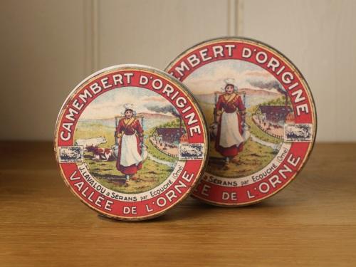 Round Camembert Tins