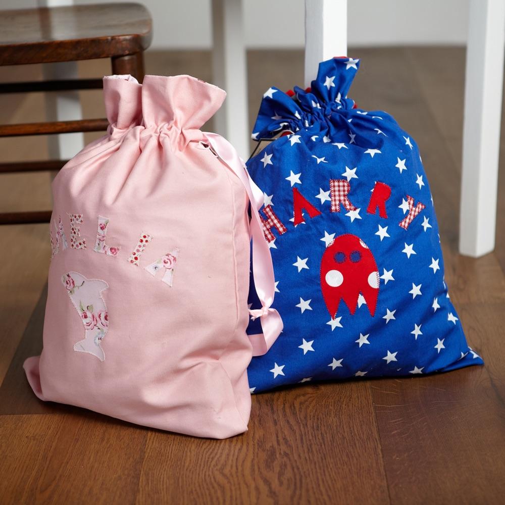 Handmade Personalised Kit Bags