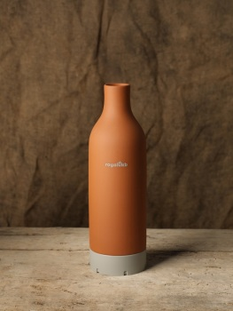 Terracotta cooler bottle
