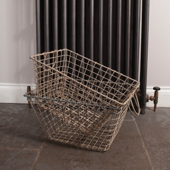 Reclaimed Wire Oyster Baskets
