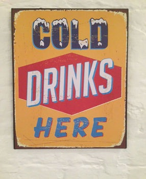Cold Drinks Here