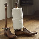Shoe Last Toilet / Kitchen Roll Holder