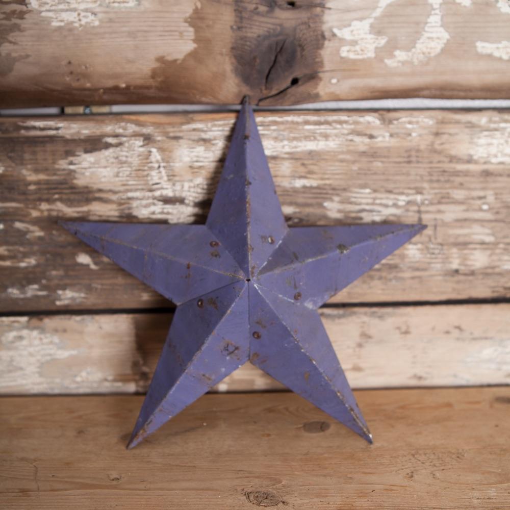 Small Purple Amish Barn Star