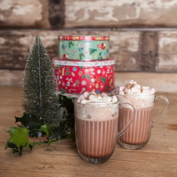 Hot Chocolate Glass