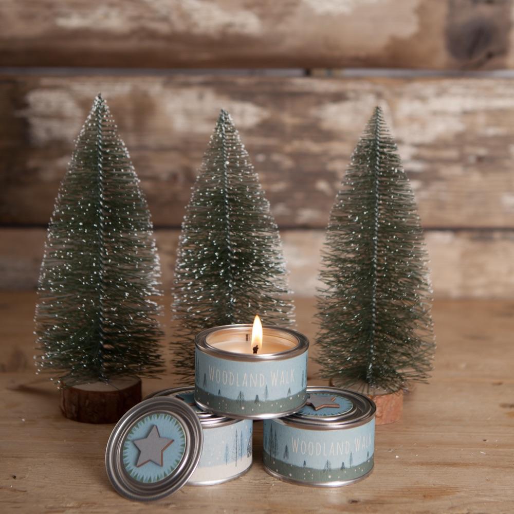 Woodland walk Candle Tin
