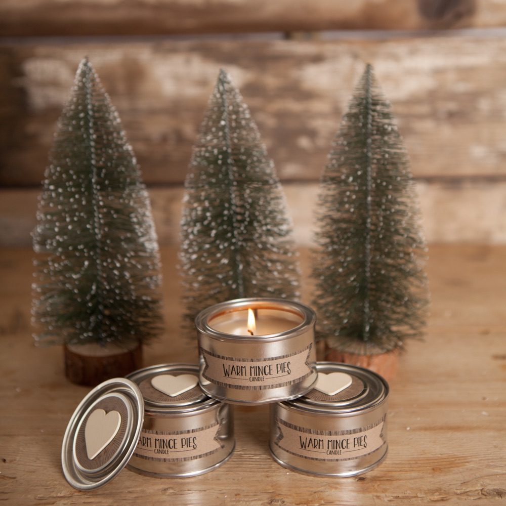 Mince Pie  Candle Tin
