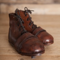 Mini leather Rugby Boots