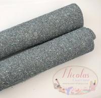 Space Grey Chunky glitter a4