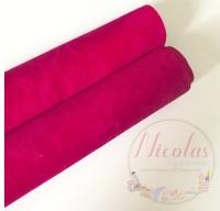 VELVET - Double Sided Hot Pink