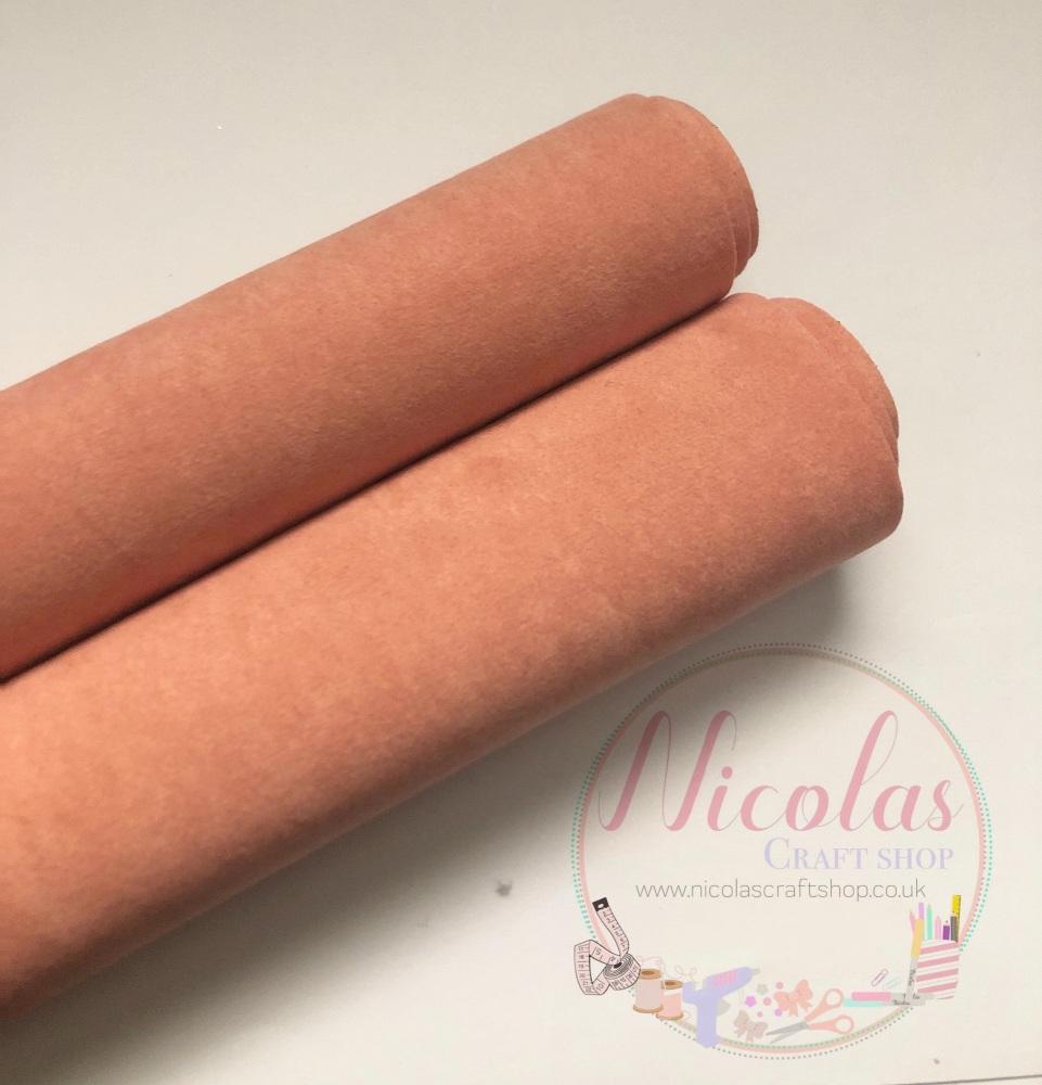 Double sided peachy sand velvet sheet