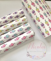 The kawaii cup collection - printed canvas sheets