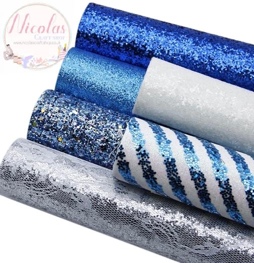 The Blue ice glitter bargain bundle