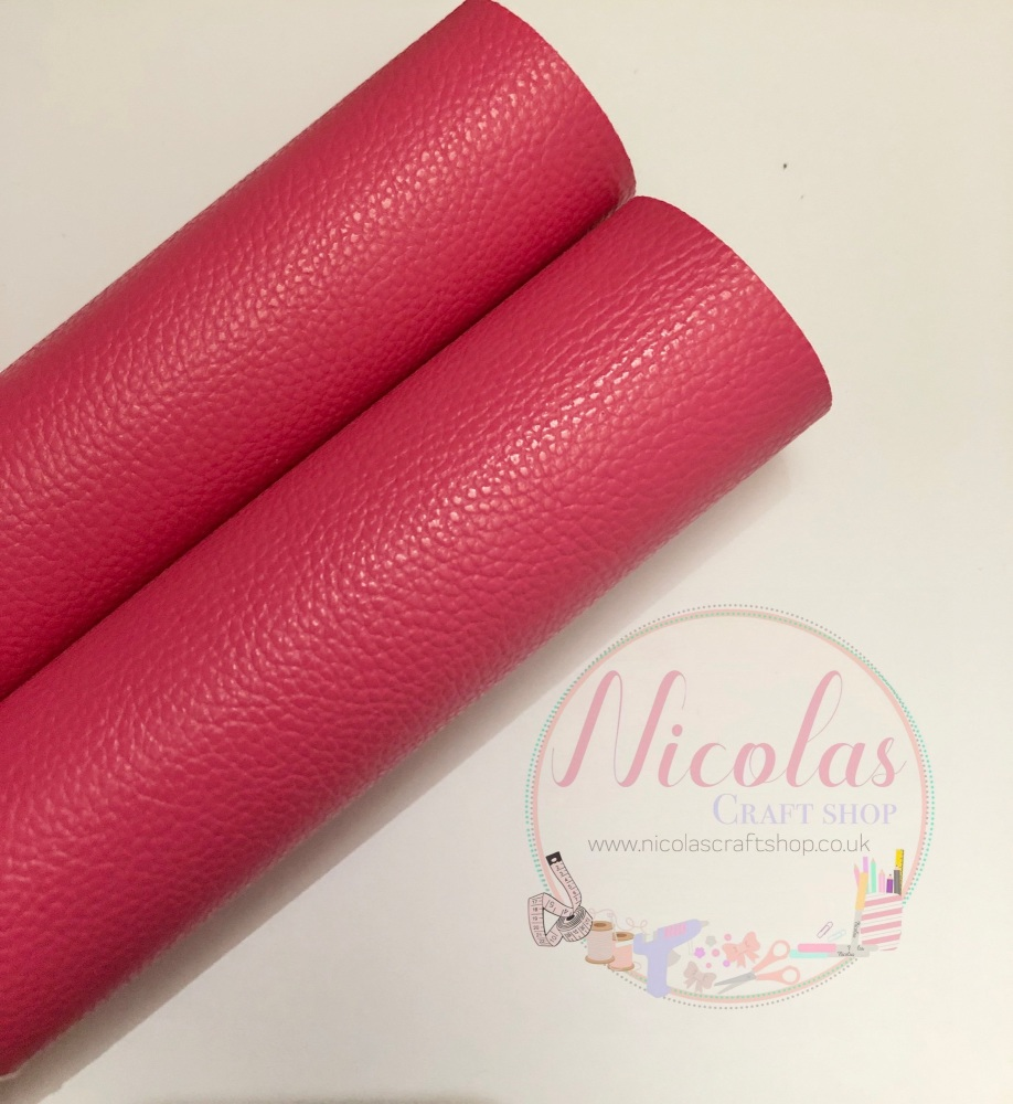 Perfect pink plain leather a4