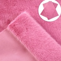 Hot pink - Fabric Fur