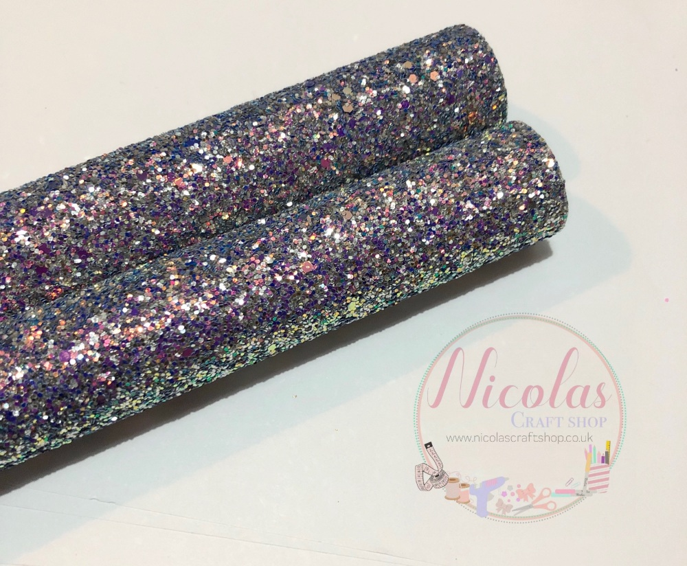 Delicious chunky glitter a4