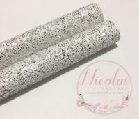 Silver dust chunky glitter a4