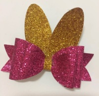 Bunny design 1 - easter bow cutting die
