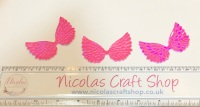 Irredescent hot pink wings