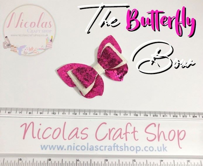 The Butterfly Bow - Bow Cutting Die