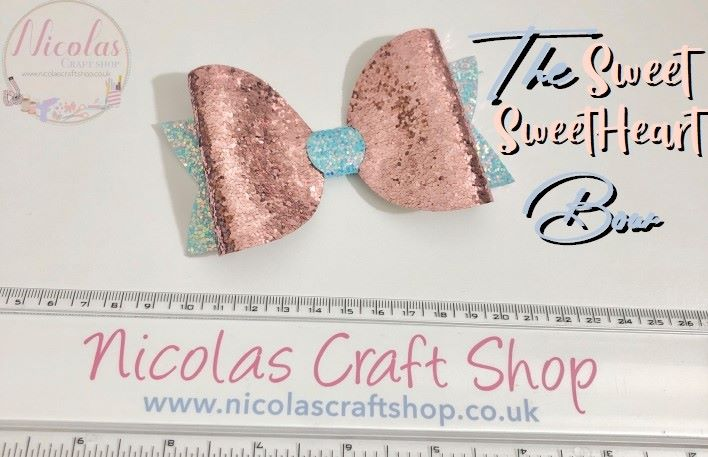 """The Sweet Sweetheart Bow - Plastic Template 4.5"""""""