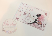 The  Butterfly Fairy Bow cards (Pack of 10)