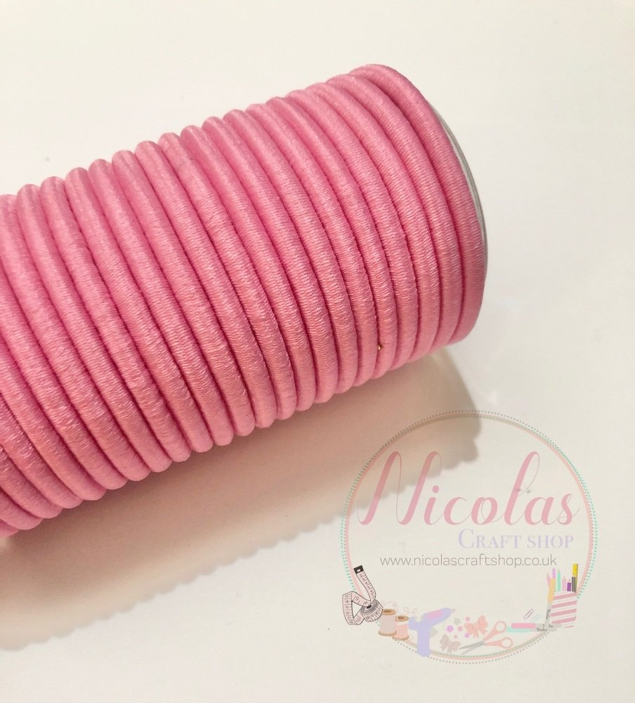 THICK pink snag free bobbles pack of 5