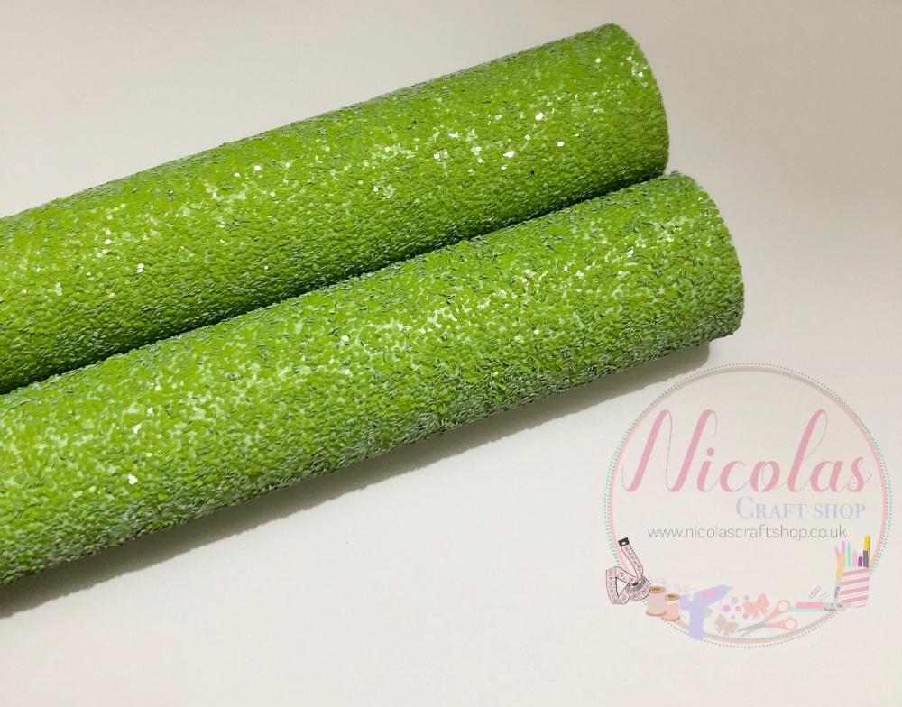 Green High quality Matte Chunky Glitter