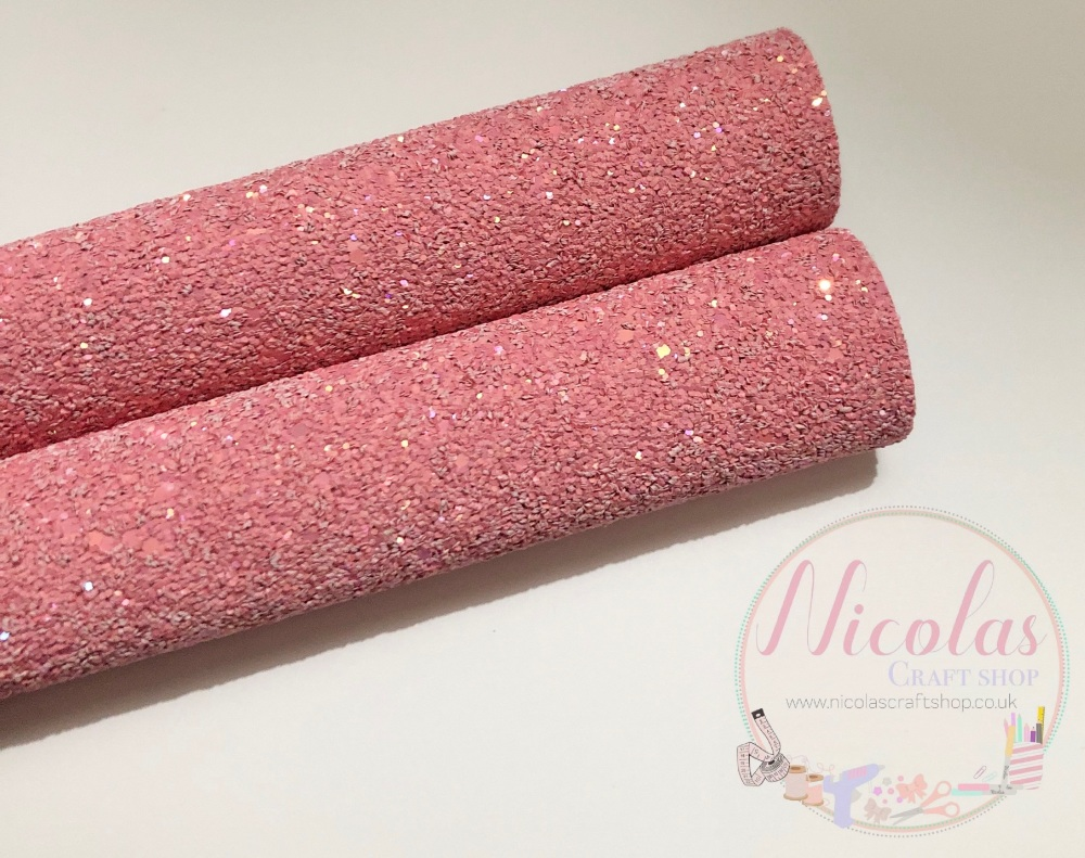 Pink High quality Matte Chunky Glitter