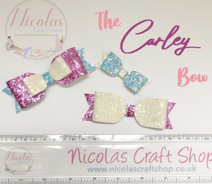 "The Carley Bow - Plastic Template 4"" + 2.5"""