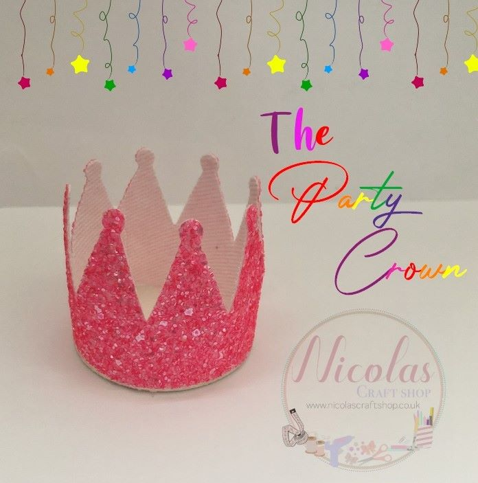 The Party Crown Plastic Template