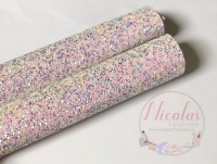 Unicorn Confetti Pop chunky glitter sheet a4
