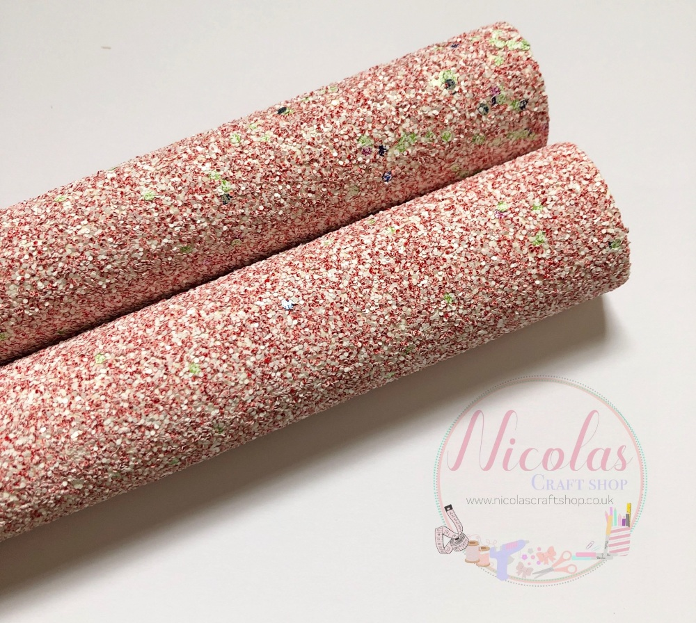Sherbet Chunky glitter fabric