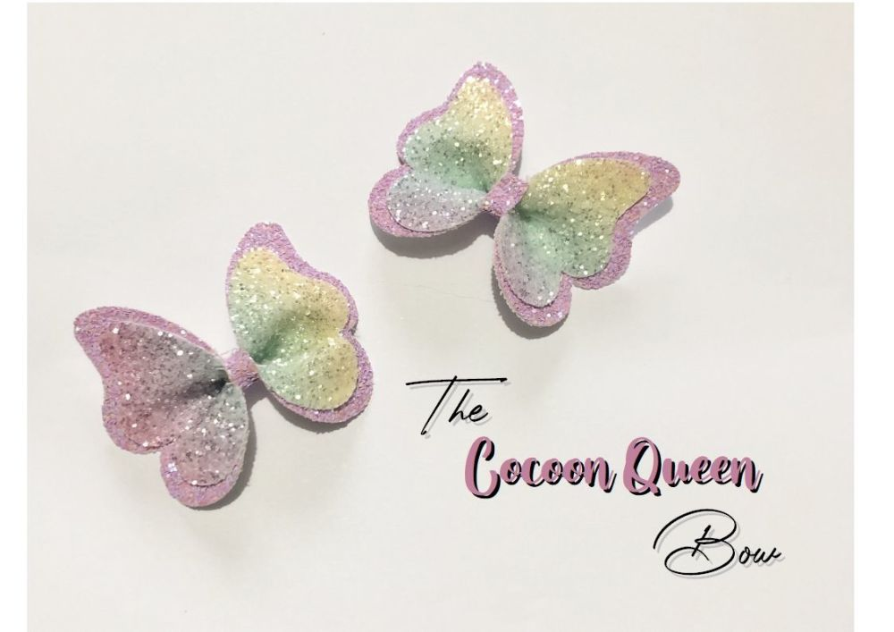 The Cocoon Queen Bow Cutting Die 3.5