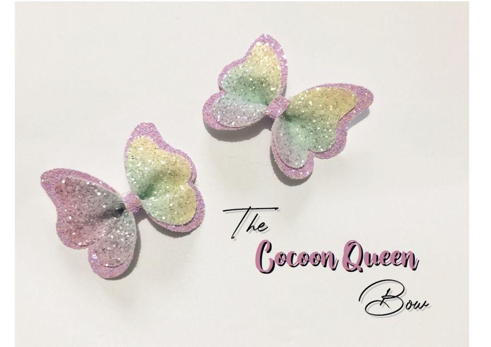 "The Cocoon Queen Plastic Template 3.5"""