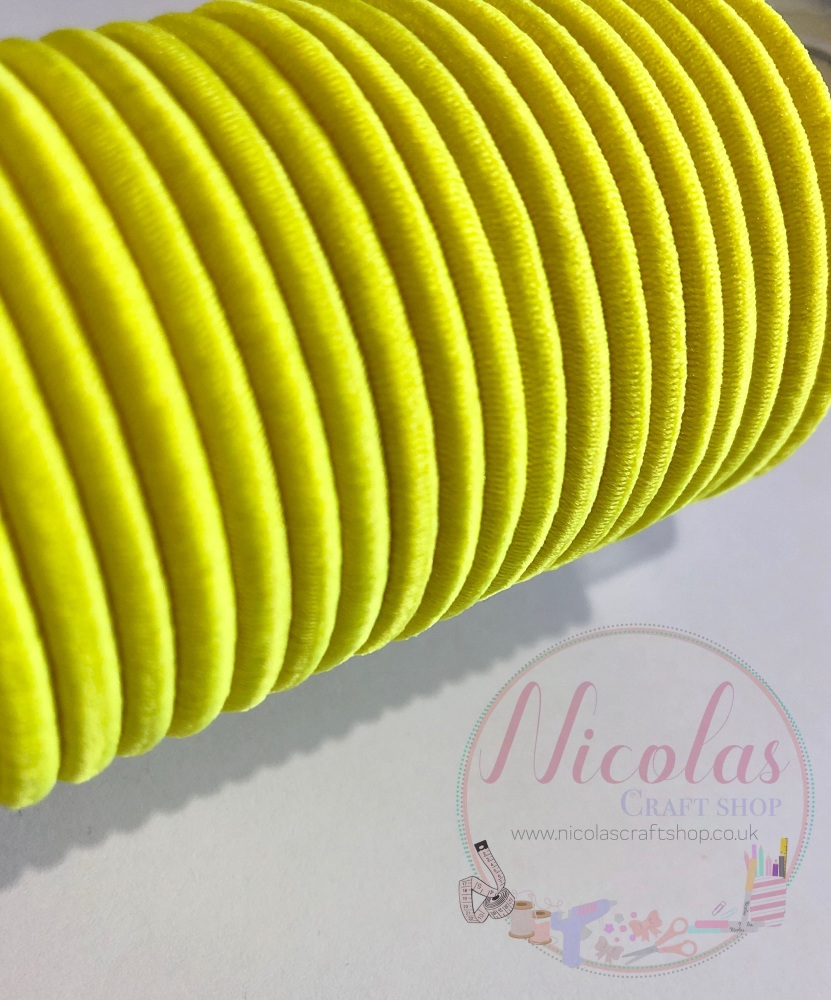 THICK yellow snag free bobbles pack of 5