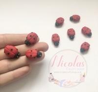 Ladybird ladybug polymer clay