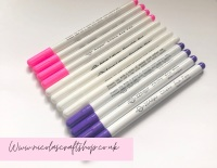 Washable disappearing pens