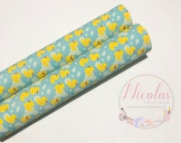 1053 - Rubber Duck Printed canvas sheet
